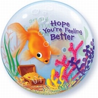22 Inch Feeling Better Fish Bowl Double Bubble