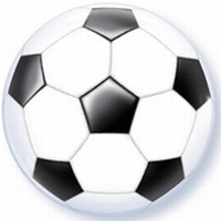 22 Inch Soccer Ball Bubble Balloon