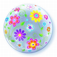Spring Floral Patterns - Bubble Balloon