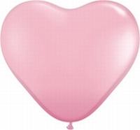 Q15 Inch Heart - Pink 50pk