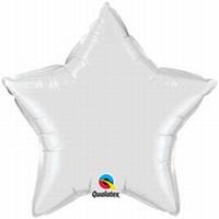 20 Inch White Star Foil