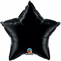 20 Inch Onyx Black Star Foil