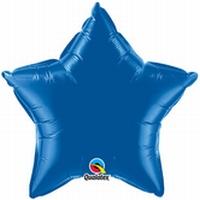 20 Inch Dark Blue Star Foil