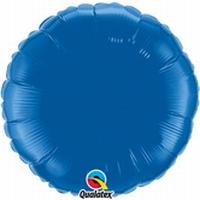 18 Inch  Dark Blue Round Foil