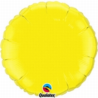 18 Inch  Yellow Round Foil
