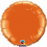 18 Inch  Orange Round Foil