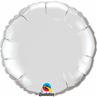 18 Inch  Silver Round Foil