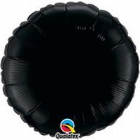 18 Inch  Onyx Black Round