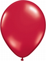 Q11 Inch Pearl - Ruby Red 100ct