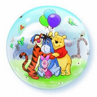 Q22 Inch Winnie the Pooh and Friends Bubble Balloon