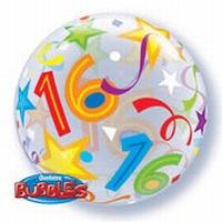 Q22 Inch Bubble - 16 Brilliant Stars