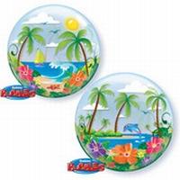 22 Inch Tropical Getaway Bubble