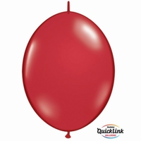 Quicklink 12 inch jewel RUBY RED  1 X 50 stuks