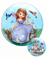 22 Inch Sofia The First Bubble Balloon