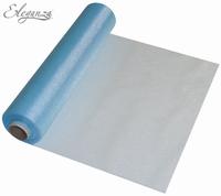 Eleganza Soft Sheer Organza 29cm x 25m Lt. Blue