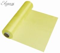 Eleganza Soft Sheer Organza 29cm x 25m Yellow