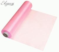 Eleganza Soft Sheer Organza 29cm x 25m Fashion Pink
