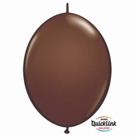 Quicklink 6 inch fashion CHOCOLATE BROWN  1 X 50 stuks