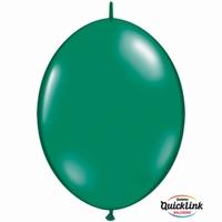 Quicklink 6 inch jewel EMERALD GREEN  1 X 50 stuks