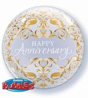 22 Inch Anniversary Classic Single Bubble