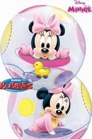 Baby Minnie Single Bubble
