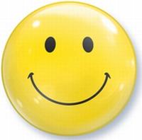 22 Inch Smiles Bubble Balloon