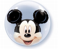24 Inch Mickey Mouse Double Bubble