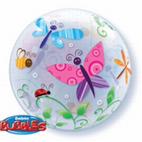 22 Inch Colourful Garden Bugs & Insects Bubble Balloon