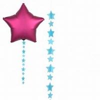Blue Star Balloon Tails