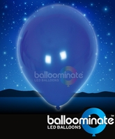 Balloominate Blue colour balloon / blue colour  LED