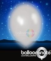 Balloominate White colour balloon / white colour  LED