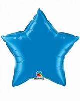 20 Inch Sapphire Blue Star Foil