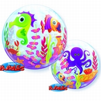 22 Inch Fun Sea Creatures Bubble