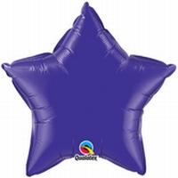 36 Inch Quartz Purple Star Foil