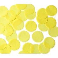25mm YELLOW Circular Tissue Confetti 100 gr