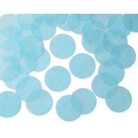 55mm L.BLUE Circular Tissue Confetti 250 gr