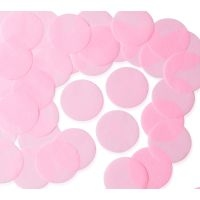 55mm PINK Circular Tissue Confetti 250 gr