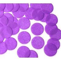 55mm PURPLE Circular Tissue Confetti 250 gr