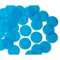 55mm TURQUOISE Circular Tissue Confetti 250 gr