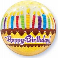 22 Inch Bubble Verjaardag Kaarsen