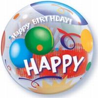 Birthday! Celebration Bubble Balloon