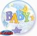 22 inch  Baby Boy - Bubble Balloon