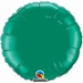 18 Inch  Teal Round Foil