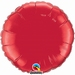 18 Inch  Ruby Red Round Foil