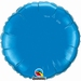 18 Inch  Sapphire Blue Round Foil