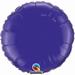 18 Inch  Quartz Purple Round Foil