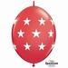 Quicklink 12 inch BIG STARS RED 1 X 50 stuks