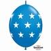 Quicklink 12 inch BIG STARS DARK BLUE 1 X 50 stuks