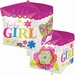 Beautiful Baby Girl Block Cubez Foil Balloon