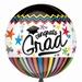 Congrats Grad Orbz Foil Balloon